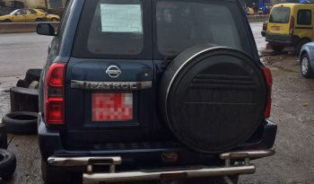 Nissan Patrol Blue full