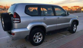 Toyota Land Cruiser light Grey full