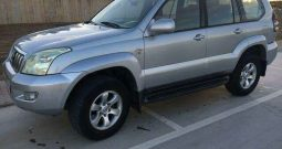 Toyota Land Cruiser light Grey